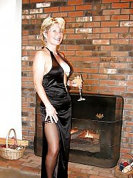 Lady b, Lady, Stockings, Milf stockings