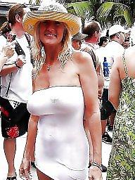 Bikini, Mature tits, Mom, Moms, Mature bikini