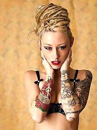 Tattooing, Tattooed blond, Tattoo,s, Tattoo,, Tattoo blonde, Tattoo blond