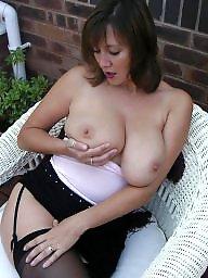 Amateur mature, Mature tits