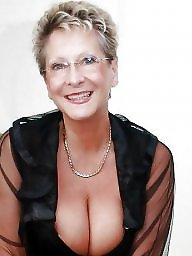 Clothed, Busty mature, Granny boobs, Mature lingerie, Lingerie, Granny