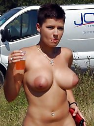 Mature tits, Big nipples, Mature big tits, Areolas