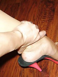 Milf feet, Cum feet, Cum on feet, Mature feet, Mature cum, Feet cum