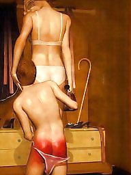Femdom cartoon, Bdsm cartoon