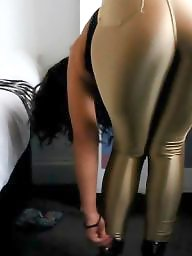 Spandex, Leggings, Video, Leggings ass, Videos, Big booty