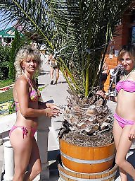 Mom, Mom daughter, Daughter, Moms, Bikini
