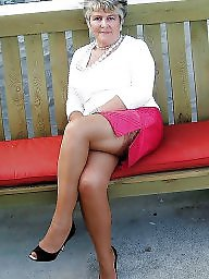 Granny, Grannies, Granny stockings, Mature stockings