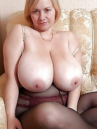Redhead, Mature boobs, Mature big boobs