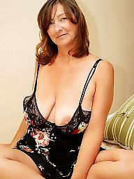 Mature big boobs, Older