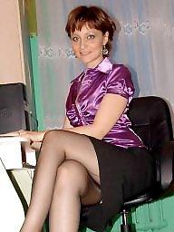 Wear stocking, Stockings office, Stocking office, Milf office, Milf wear, Office,
