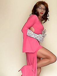 Pink stocking, Pink mature, Pink dress, Stockings dress, Stocking dressed, Stocking dress