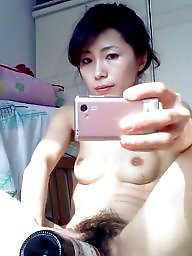 Chinese, Hairy mature, Asian mature