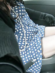 Upskirt stockings, Dress, Mini, Mini dress
