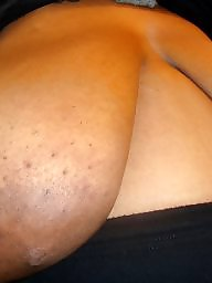 Ebony bbw, Huge boobs