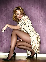 French, Pretty, French milf, Set, Blonde milf
