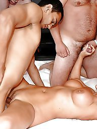 N creampie, More creampie, More than 1, Group sex creampies, Group sex creampie, Creampy