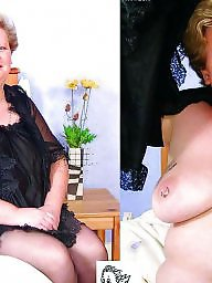 Mature dressed undressed, Milf dressed undressed, Undressed, Dressed