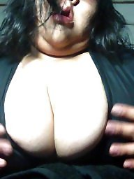 Bbw latin, Cleavage, Queen