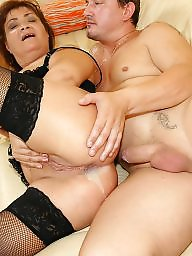 Mom, Moms, Old young, Anal mature, Anal creampie, Creampie