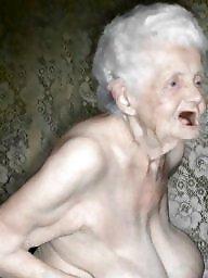 Granny, Granny stockings, Hairy granny, Granny boobs