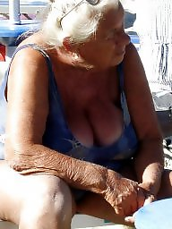 Granny beach, Granny, Mature beach, Grannies, Beach granny, Busty mature