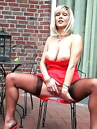 Tits milf, Tit milfs, Red,milf, Red tit, Red shoes, Red j