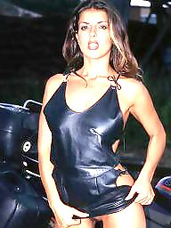 Mini skirt, Leather milf, Skirt, Leather skirt, Mini, Leather