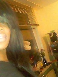 여자아이 발, 흑인 미소녀