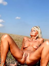 Mature outdoor, Outdoor mature, Outdoor milf