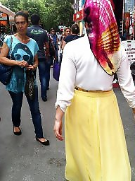 Arab upskirt, Asian upskirt, Hijab upskirt, Hijab, Turkish, Turbanli