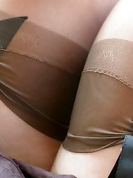 Upskirt stockings, Upskirt mature, Mature stockings