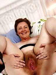 Amateur, Hairy, Mature, Hairy granny