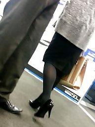 Pantyhose, Heels