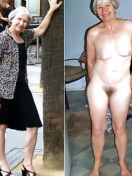 Mature wives undressed