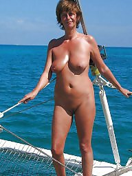 Beach, Saggy, Skinny, Mature beach, Skinny mature