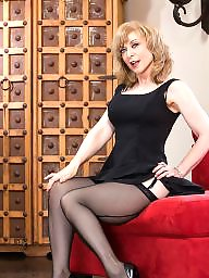 Seamed stockings, Nina hartley, Celebrities, Black stockings, Nina