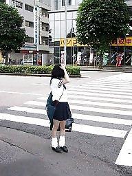 School girls, School uniform, Uniform, School girl, School, Asian public