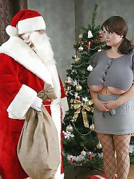 Christmas, Curvy milf, Mature tits, Curvy, Big natural, Curvy mature