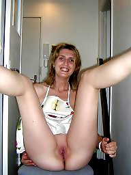French, Maid, Amateur facial, Facial
