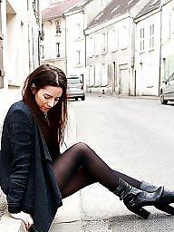 French, Teen leggings