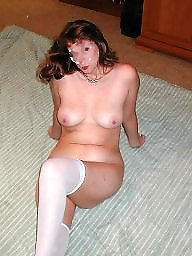 Amateur stockings, Mature stockings