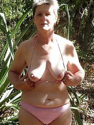 Mature outdoors, Outdoor, Granny outdoor, Grannys, Mature outdoor, Naked