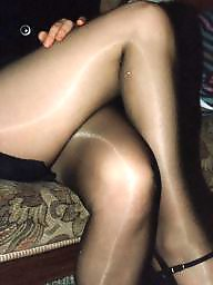 Older, Black stockings