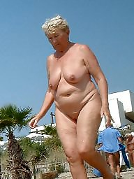 Granny, Mature outdoor, Amateur granny