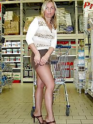 Public nudity, Flashing, Flash, Store, Public, Public upskirt