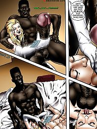 Interracial cartoon, Bride, Interracial cartoons