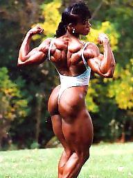 Black milf, Fbb, Muscle, Muscled, Ebony milf