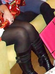Strumpfhose, Pantyhose, Stocking, Aunt, Voyeur, Stockings