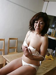Hairy granny, Mature asian