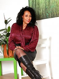 Nylons and boots